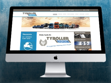 Tyroller Kfz – Webdesign WordPress