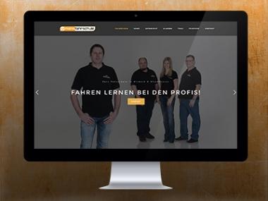Manis Fahrschule – Webdesign