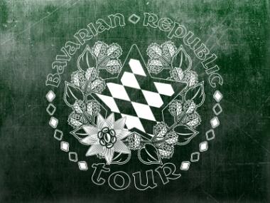 Bavarian Republic Tour – Logodesign