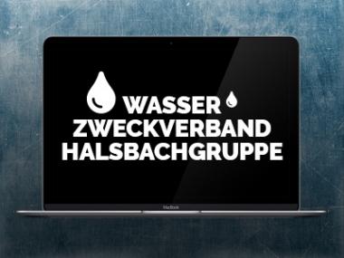 Wasserzweckverband Halsbachgruppe – Webdesign